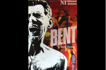 Bent - NT 1990 (poster from National Theatre) 760 x 510mm
