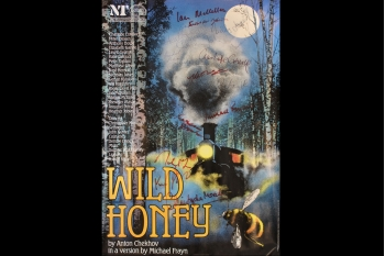 Wild Honey - NT 1984 Cast Signed (poster) 760 x 510mm